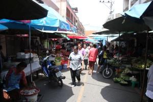 Markt in Surat Thani