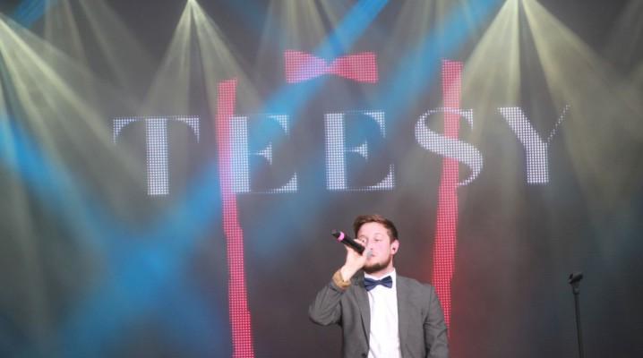 Teesy Kieler Woche 2015 auf der NDR-Bühne