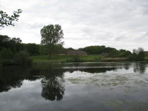 Teich im Freilichtmuseum Molfsee - Landesmuseum für Volkskunde