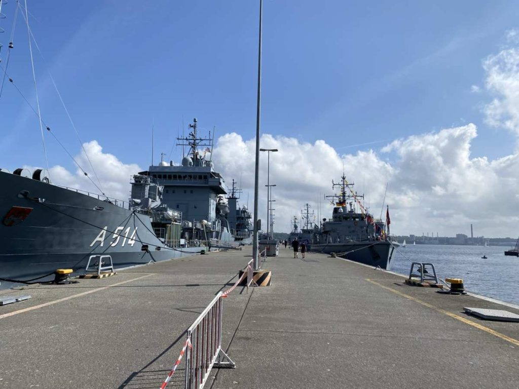 Tirpitzmole Marinestützpunkt Kiel