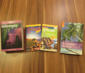 Travel Guides Baltikum, Trinidad & Tobago und Indonesien