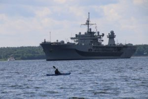 USS Mount Whitney LCC 20 US Navy Kieler Förde