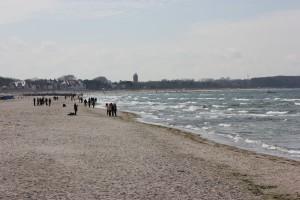 Warnemünde Strand an der Ostsee