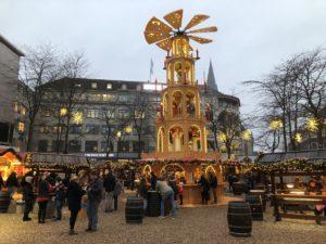 Pyramide Asmus Bremer Platz Weihnachtsmarkt Kiel