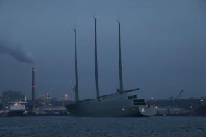 Mega-Yacht Sailing Yacht A von Andrej Melitschenko