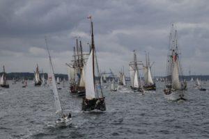 Windjammerparade 2018 Kiel
