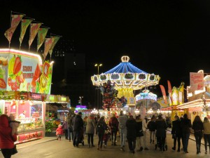 Hamburger Winterdom 2017 auf dem Heiligengeistfeld Hamburg im November 2017