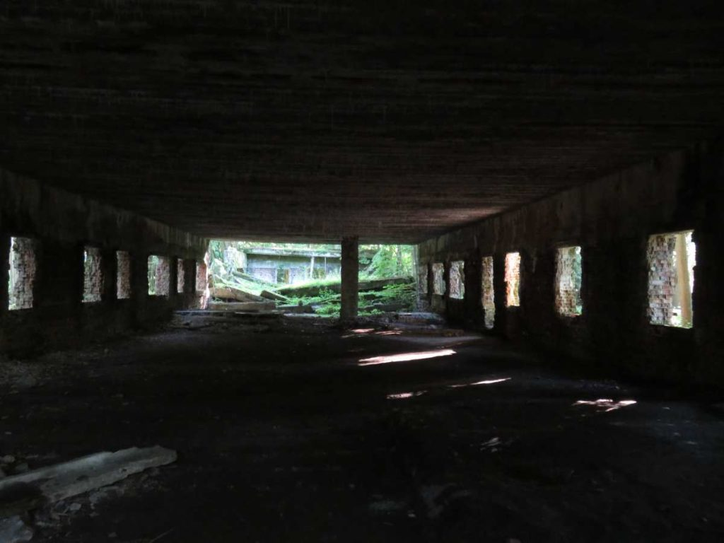 Wolfsschanze Ruinen Führerhauptquartier Polen