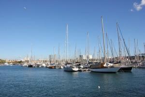 Yacht Hafen Barcelona